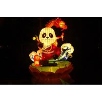 China Handmade Fabric Chinese Lanterns Traditional And Beautiful For Festival on sale