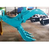 Quality Wide Design Mechanical Grapple / Grab for Kobelco SK200 Excavator for sale