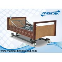 China Custom Electric Nursing Home Beds Side Rails In Full Length Protection wholesale