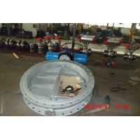 China Industrial Butterfly Valves , Single / Double Acting Wafer Style Butterfly Valve wholesale