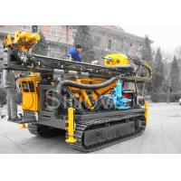 China Hydraulic Sinovo Core Drilling Rig Cummins engine  SD-1200 with drill depth 600m and drill diameter114mm wholesale