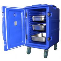 Insulated food transport containers for both hot and cold food