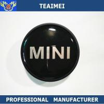 China 55MM Custom Mini Logo Alloy Car Wheel Center Caps / Chrome Car Logo wholesale