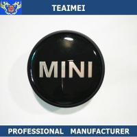 55MM Custom Mini Logo Alloy Car Wheel Center Caps / Chrome Car Logo