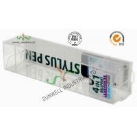 China Electronics Ballpoint Plastic Packaging Boxes , Clear Plastic Display Boxes wholesale