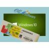 China Home Windows 10 PC Product Key , 10 Pro Coa Sticker Oem Box License wholesale