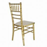 China Tiffany/chiavari chair, solid wooden frame, various colors are available wholesale