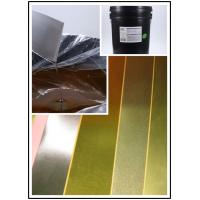 Roller Coating Water Based Orange Paste To Make Gold Card Paper High Efficient