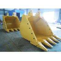 China Wear Resistant Tilting Backhoe Rock Bucket High Performance For Cleaning Hard Soil on sale