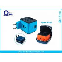China Rubber Oil Painting Wifi Plug Socket USB Travel Adapter With Zipper Pouch Bag wholesale