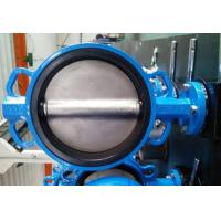 China PTFE Lined Centric Butterfly Valve Self Lubricated Shaft Bear ATEX Wafer Type Butterfly Valve wholesale