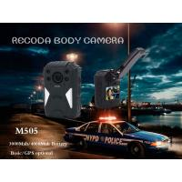 China RECODA M505 GPS Tracking Police Waterproof Body Worn Camera Night  Vision wholesale