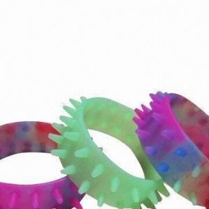 China Hedgehog silicone bracelets, measures02x25x8mm wholesale