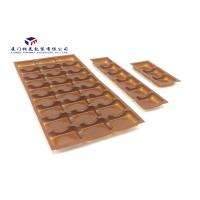 China Brown Color Plastic Retail Packaging Boxes Vacuumformed PET Tray Pack Chocolates wholesale