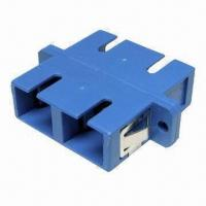 China SC Fiber Optic Adapter, SM/MM, Insertion Loss wholesale