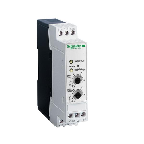 Quality Schneider Altistart 01 - ATS01N106FT Soft starter for asynchronous motor - ATS01 - 6 A - 110..480V - 0.75..3 KW in stock for sale