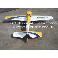 China Slick540-100cc plane model , Giant Model Airplanes Balsa Wood With Aerobatics wholesale