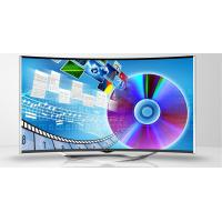China Android 4.4 WIFI Curved LED TV Ultra High Resolution 4K With 2 Tuners wholesale