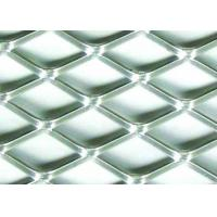 5 X 5mm Stainless Flattened Expanded Sheet , Stamping Stainless Steel Expanded Metal Grating