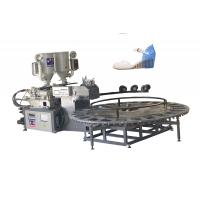 China Double Density PVC TR TPU Tpr Sole Making Machines For Leather Shoes / 5*3*2m wholesale