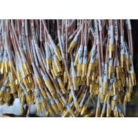 China Gold Plated SMB RF Cable Assemblies SMB Female To SMB Female RF Connector Length 280mm wholesale
