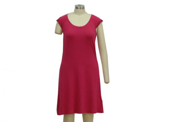 Quality Latest Ladies Summer Nighties  , Viscose /  Elasthan Long Sleeveless Nightgown for sale