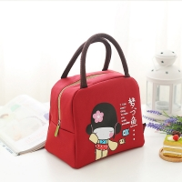 China Portable Oxford Thermal Insulated Lunch Bag For Kids wholesale