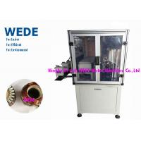 China Auto Wire Cut Armature Winding Machine Multi Stations For Exhaust Fan Motor wholesale