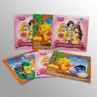 Promotional Comic Art Book Printing With Saddle Stitch Binding For Children
