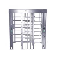 China RS485 One-way Direction Full Height Turnstile Entrance Gate, Security Turnstiles (0.2s) on sale