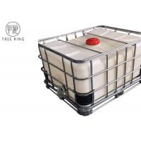 China Steel Caged Tote Stackable Ibc Liquid Storage Containers Tanks 500L / 132Gallon LLDPE on sale