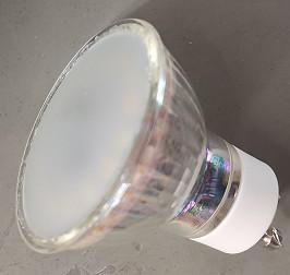 China 2700K 4.5w 350lm Gu10 Led Bulbs 130V RGB+CCT Working Environment wholesale