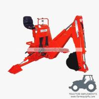 BH5600 - Light Model 3 Point Backhoe for small tractor 16-25hp