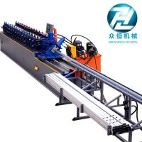 Buy cheap C And U Stud And Track Forming Machine With Servo Motor Cutting Control from wholesalers