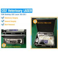 China 15 Watt Portable CO2 Surgical Laser Equipment For Hospital / Clinic With Safety Protection wholesale