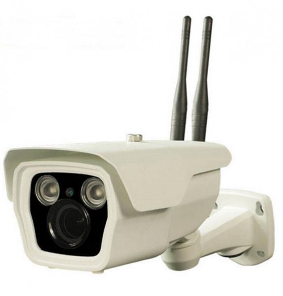 Quality cámara IP inalámbrica de 1.0MP 720P, cámara impermeable del IP TF de la tarjeta de la visión nocturna 4G SIM for sale