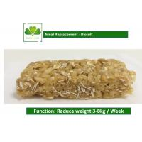 China 100% Natural Food Weight Loss Protein Bars Biscuit Cookie For Satiety wholesale