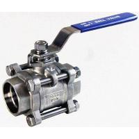 China High quality 3PC Stainless Steel Socket Weld Ball Valve Hot sale!!! wholesale