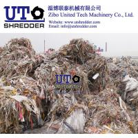China two engines shredder/ plastic shredder/ ragger wire recycling equiments / pulp paper factory / waste plastic scrap crush wholesale