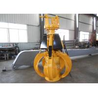 China Light Weight Komatsu Orange Peel Grab / Excavator Rotating Grapple wholesale