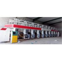 ASY-A 8 color 1000mm high speed 200m/m gravure printing machine 7 motors Horizontal-vertical color register double side