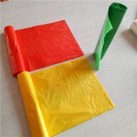China Plastic Recycling Bin Liners , Colored Trash Bags 5.5 - 25MIC Thickness wholesale