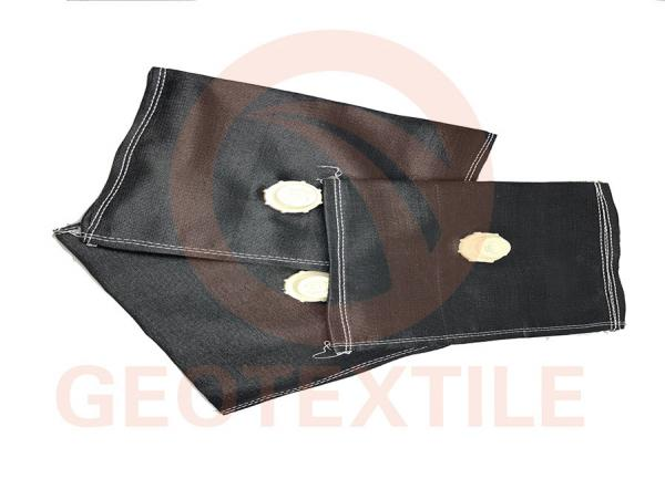 Quality Marine Dredgings Geotextile Dewatering Tubes UV Resistant Environment Protection for sale