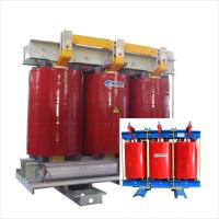 China Two Winding AN Air Cooled Transformer Low Noise 6.6 KV - 1000kVA Fireproof wholesale