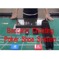 China Remote Control Baccarat Cheat System Casino Card Shoe Change Poker Results wholesale