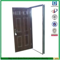 China Fangda hot sale lowest price American steel door on sale