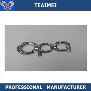 China Customized ABS Plastic Best Chrome Car Letter Emblems Auto Letter Opa Emblem Badge wholesale