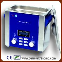 China Derui digital ultrasonic cleaner DR-P30 3L with Degas and Sweep wholesale