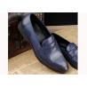 China Ботинки Брогуэ людей Оксфорда кожаных повседневных обувей роскошных людей голубые для партии/свадьбы wholesale