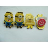 China Multifunctional Cute Minions Soft PVC Bookmark / Paper File Holder / Nets Clip Accept Custom Other Shapes For Promotion wholesale